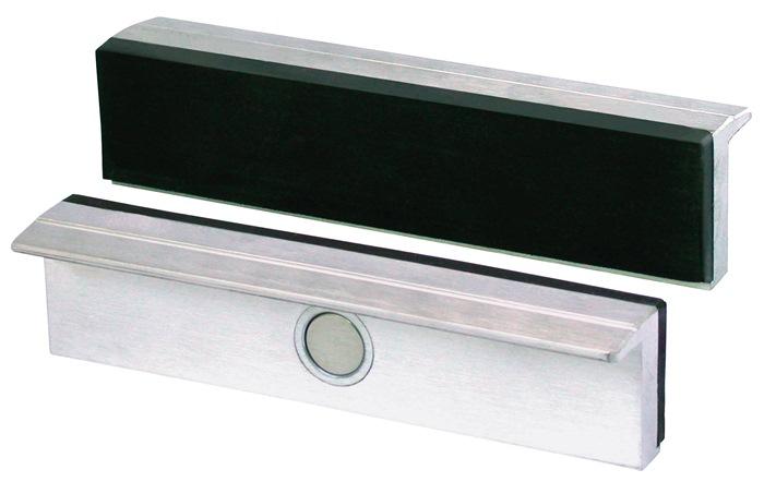 Beschermbek lichtmetaal m.rubberlaag breedte 120mm 1 paar m.magneet Brockhaus