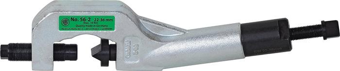Moerbreker 56-2 hydraulisch voor moeren 22-36mm 7/8 - 1 7/16inch KUKKO