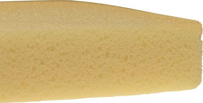 Spons in rastervorm velours-hydro L.290 mm B.150 mm dkt.35 mm gerasterd