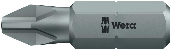 Bit PH mt.2 l.25mm 1/4inch 6KT C6,3 taaihard kaart m. 2 st. 851/1 Z SB
