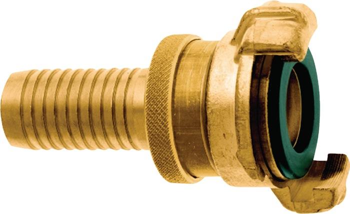 Slangstuk GEKA MS-SH klauw-B.40mm slangmt. 1inch SH ZV Karasto