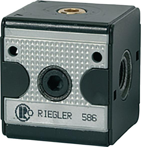 Terugslagklep Multifix BG 1 G 1/4 RIEGLER