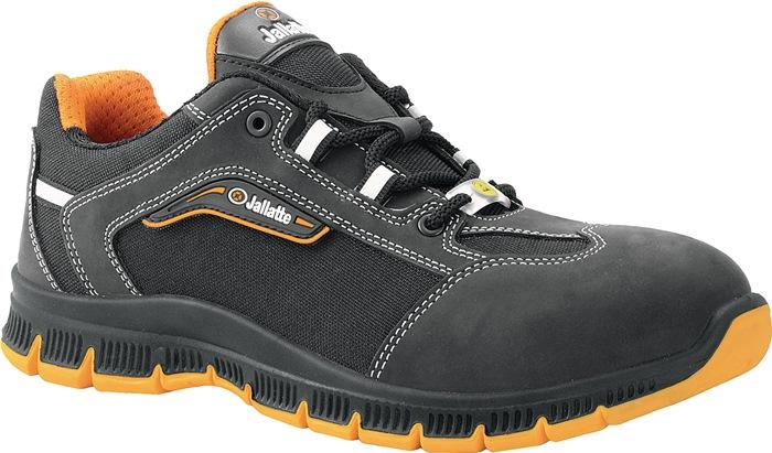 Veiligheidsschoen EN20345 S3 ESD SRC Jalcross mt.41 nubuck zwart/oranje W11