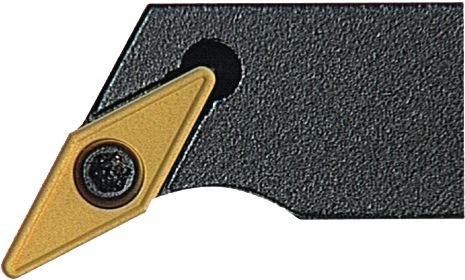Klemdraaihouder SVPCR 2525 M16 rechts gebruineerd uitwendig draaien PROMAT