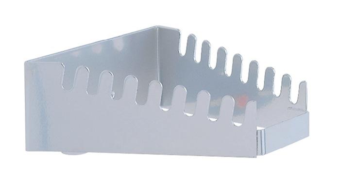 Moersleutelhouder verticaal v. 8 sleutels H50xB130/60xT150mm v.perf.pl.