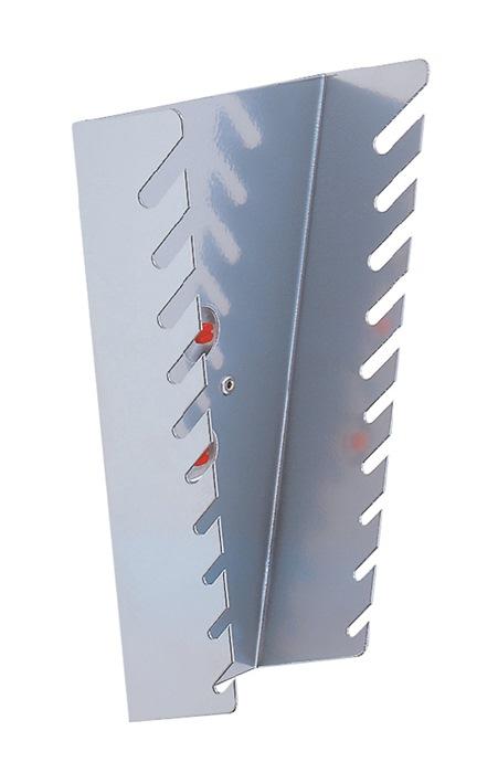 Moersleutelhouder verticaal v. 10 sleutels H220xB145/75xT50mm v.perf.pl.