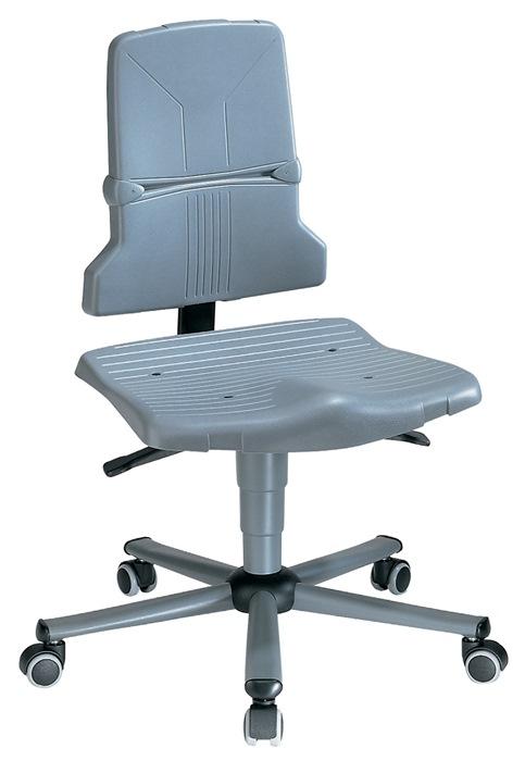 Werkdraaistoel Sintec B m.wlen PP ESD zith. 430-580mm cont.rugl./zithoek BIMOS