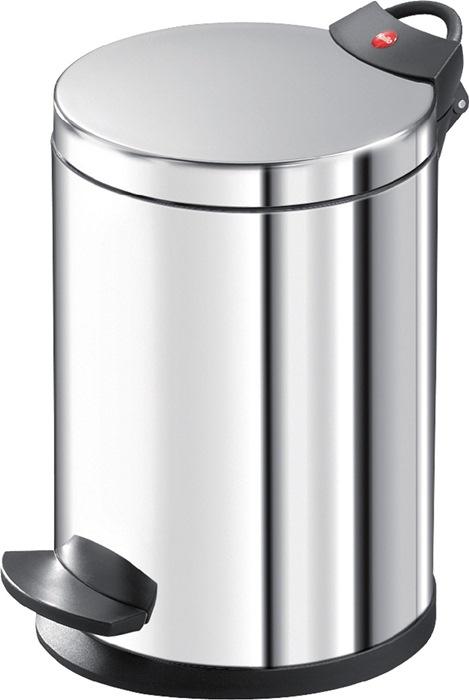 Pedaalemmer 4l edelstaal binnenemmer verz. H.280xd.180mm HAILO