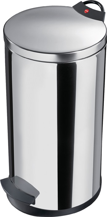 Pedaalemmer 20l edelstaal binnenemmer verz. H.595xd.270mm HAILO