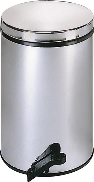 Pedaalemmer 13l edelstaal binnenemmer kunststof H.410xd.270mm WESCO