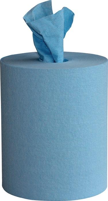 Poetsdoek Wipex Work L.380xB.240mm blauw 200 doeken/rol WIPEX