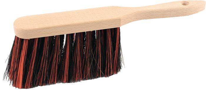Handveger Arenga/elaston L.280mm met houten rug extra vol bezet SOREX
