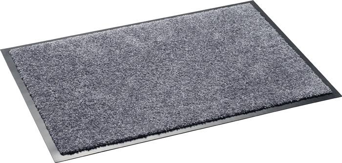 Vuilvangmat grijs B.400xL.600mm wasbaar