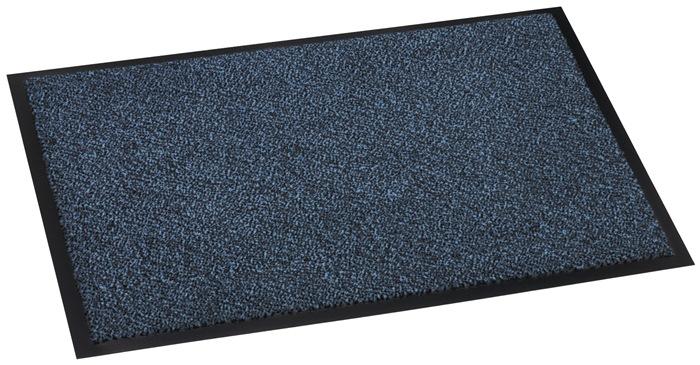 Vuilvangmat blauw B600xL900mm 600g/m²
