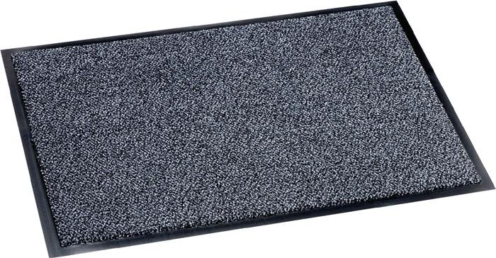 Vuilvangmat B600xL900mm grijs 800 g/m²