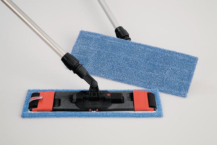 Microvezelmop breedte 400 mm voor natte reiniging RUBBERMAID