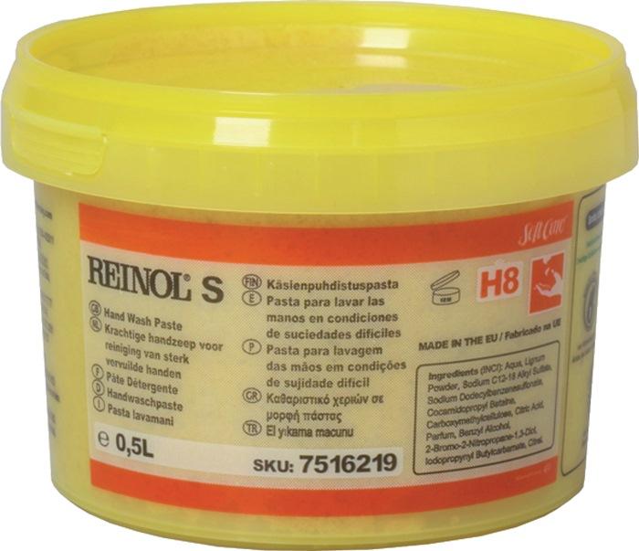 Handwaspasta Softcare Reinol S 0,5l voor disp. art.nr.473118 v.olie/vet/roet