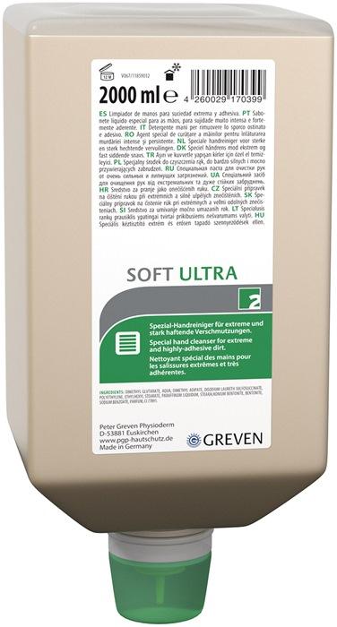 Reinigingslotion 2l Ivraxo Soft U v.dispenser 9000473404 fles