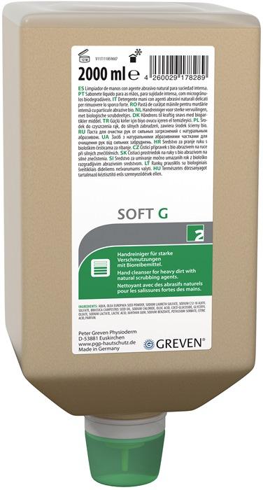 Reinigingslotion 2l Ivraxo Soft G v.dispenser 9000473404 fles