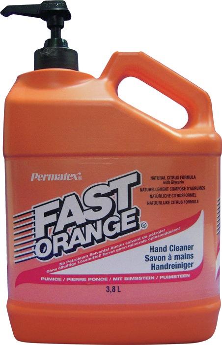 Handreiniger Fast Orange 3,8l m. puimsteen pompdispenser 1st./VE