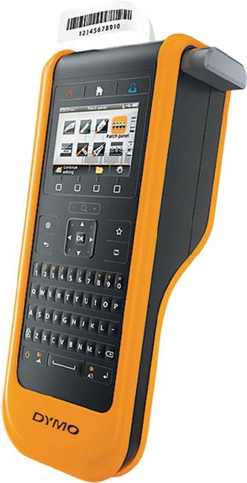Labelp. DYMO XTL300 kof. let.br. 12,19,24mm mob.app. 1 labelt. B24mm zw. op wit