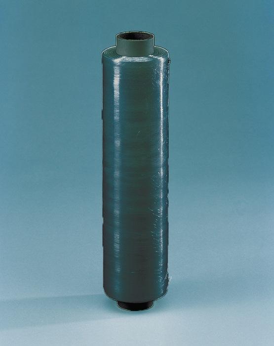 Stretchfolie L.300m B.500mm dikte 20µm zwart 6RL/VE
