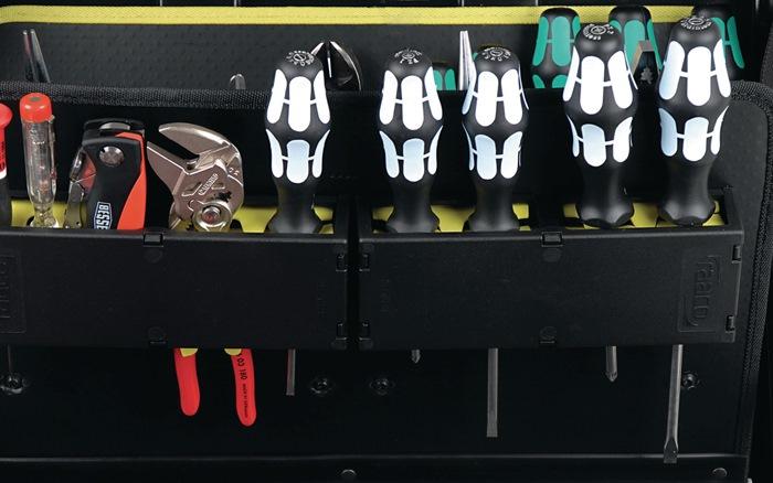 Gereedschapskoffer Superior XLT-34/4F trolley 45kg 34steekvakken 4gereedschapsh