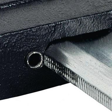 Schroefklspanw.300mm, vl120mm raildia.30x8mm m.3-c. greep m.antisl.temp.gietijz.