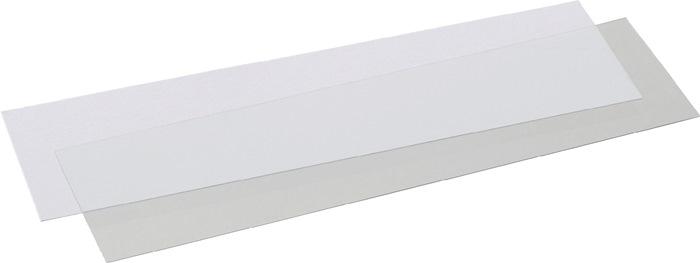 Etiket voor magazijnbak mt.3+4 wit