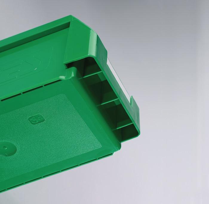 Opzetdeksel voor magazijnbak mt.1+2 glashelder L500xB300mm