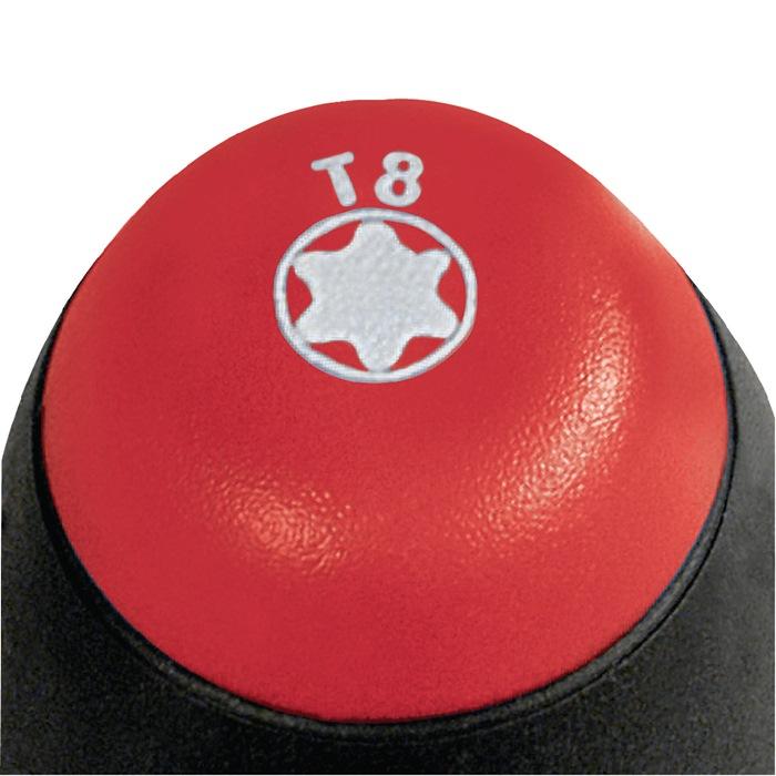 Schroevendraaier TX 40x130mm t..l. 254mm rnd.e kling/vastzetveer meercomp.-greep