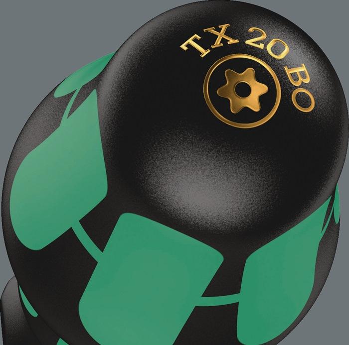 Schr.dr. TORX® 367 BO TX 30x115mm TORX30 L115mm tot.L220mm m.gat mr.comp. h.gr.
