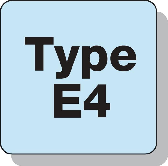 Gereedschapshouder vorm E4 VDI30 d2=2-20mm DIN69880 v.spantang type ER PROMAT
