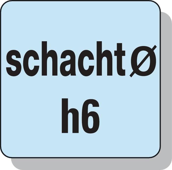 Schachtfrees 6527L d.4mm VHM TiAIN 2 sneden lang PROMAT