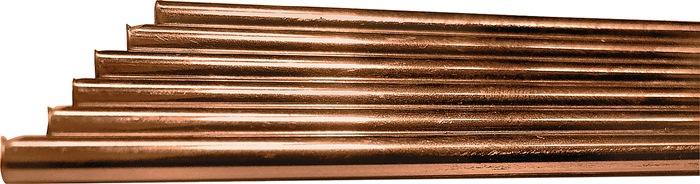Lasstaaf O III d.3,0mm L.1000mm DIN EN12536 verkoperd materiaalnr. 1.6215 DRATEC