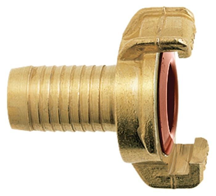 Slangstuk GEKA Plus klauw-B.40mm slangmt. 1i. KTW-goed.(drinkw.ges.)