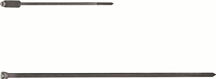 Kabelbinder B.4,8mm L.370mm v.PA transparant/naturel inh. per zk: 100 st. zk