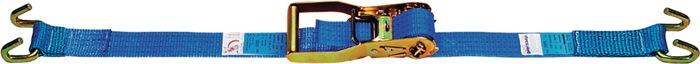 Sjortakel EN 12195-2 L.10m B.50mm LC:2000 daN m.raamhk omsn.. 4000daN (kg)