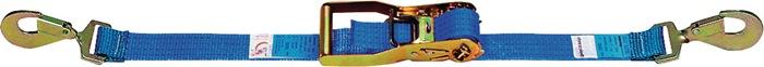 Sjortakel EN 12195-2 L.6m B.50mm LC:2000 daN m.karabijnhaak omsn. 4000daN (kg)