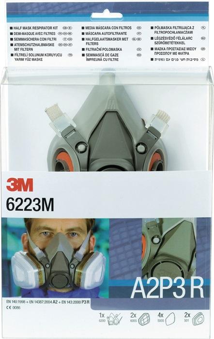Set halfm. 6223 SET A2P3R m.M inh.: 2X 6055,4X 5935,2X 501 9dlg. mask m.M+toeb.