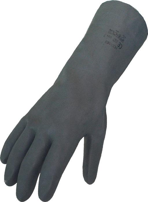 Handschoenen EN388cat.IIImt.9 neopr zwart uitstekende vingervaardigheid 12p