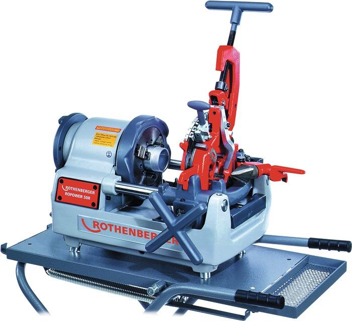 Schroefdraadsnijmachine ROPOWER® 50R m.autom. snijkop BSPT R 1/2 - 3/4in 1-2in