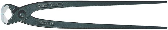Hoeftang DIN ISO 9242 L.220mm met facet Tang zwart gefosfateerd Knipex