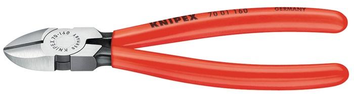 Zijsnijtang DIN ISO 5749 L.140mm handgrepen van meerdere componenten Knipex
