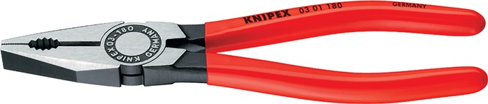 Combinatietang DIN ISO 5746 L.140mm gepolijst met kunststof mantel Knipex