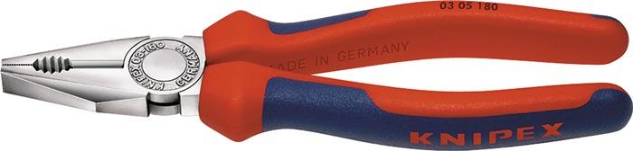 Combinatietang DIN ISO5746 L.180mm m.2-componenten handgrepen chroom Knipex