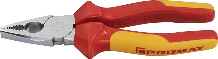 Combinatietang DIN ISO5746 L.180mm VDE m.2-comp. handgr en antislip chroom
