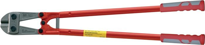 Betonschaar Waggonit L.460mm m.ku.-greep bij 40HRC dr zacht d.8mm middelhd d.6mm