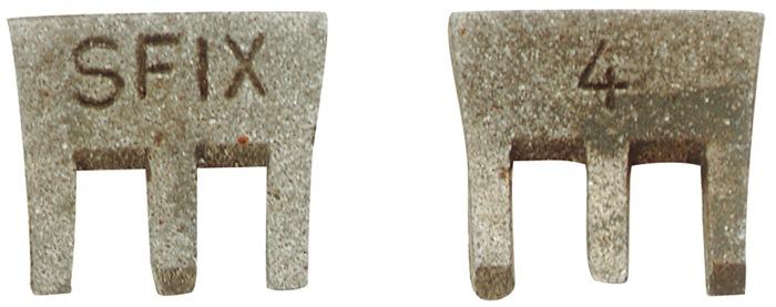 Hamerspie Sfix b. 16mm maat 0 voor 400 g Prijs/100 st.