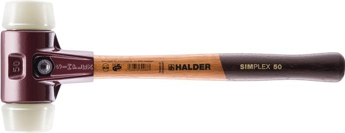 KS hamer Simplex t.l330mm kop-d.40mm hard.slag 650g hout steel slagk.-nyl